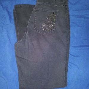 NYDJeans Grey Size 14 BootCut
